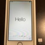 オークション出品に伴い、iPhone5s iOS8.2初期化しました