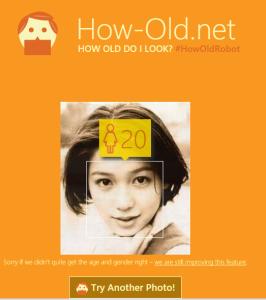 画像で年齢判別してくれる「How-Old.net」で遊んでみた!