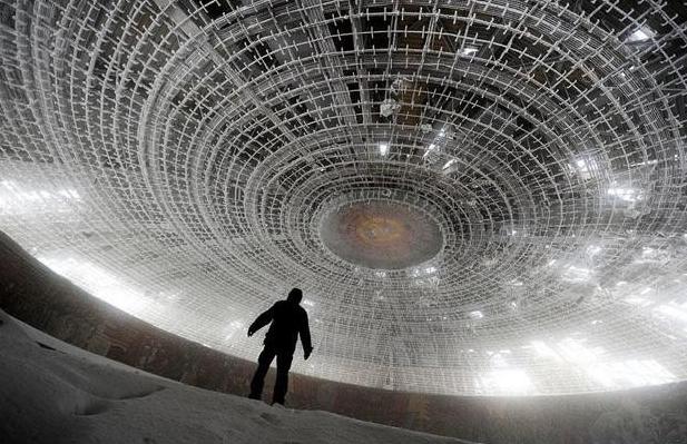 ブルガリアの共産党ホール