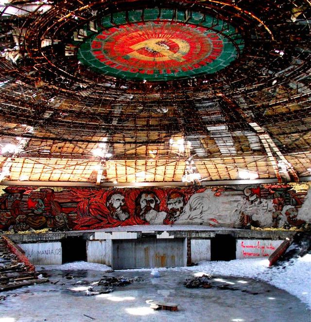 h共産党ホール内部の様子