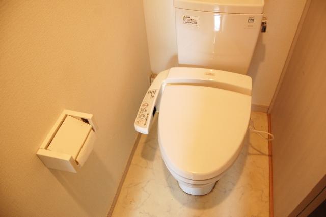 キレイなトイレの画像