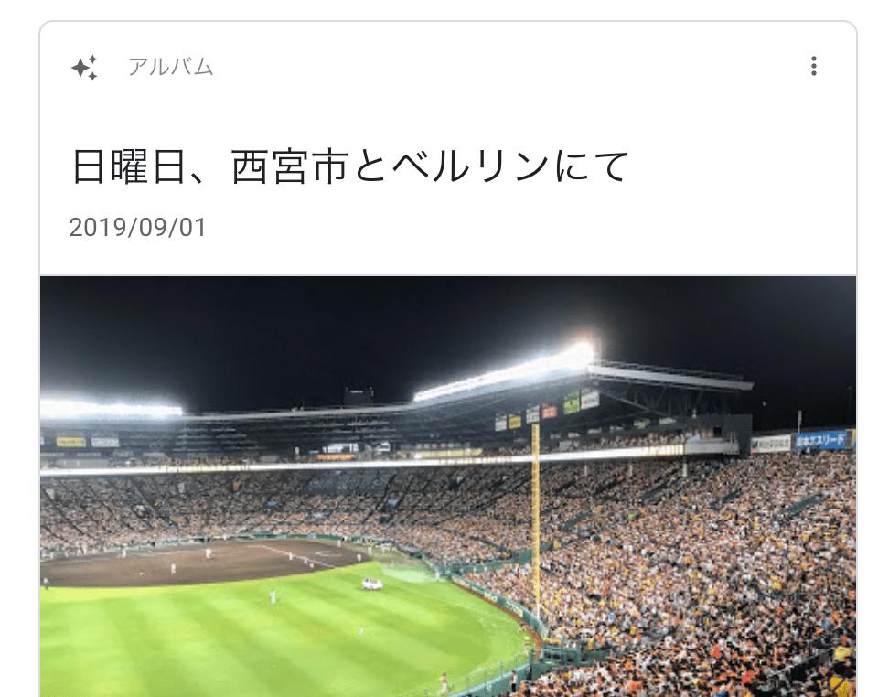 甲子園で阪神タイガースを応援