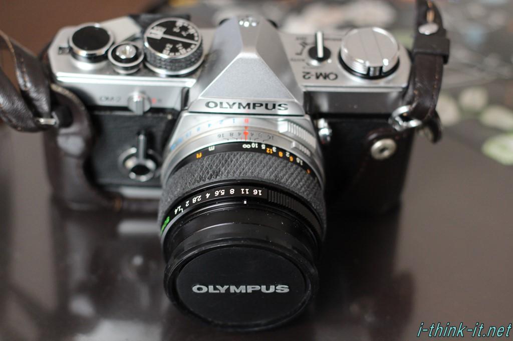 ジャンク品のOLYMPUS製一眼カメラ