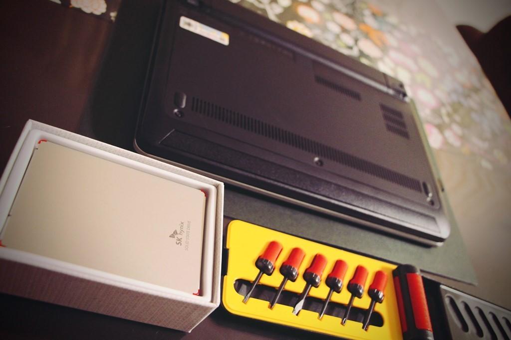 ドライバーセット、パソコン、SSD