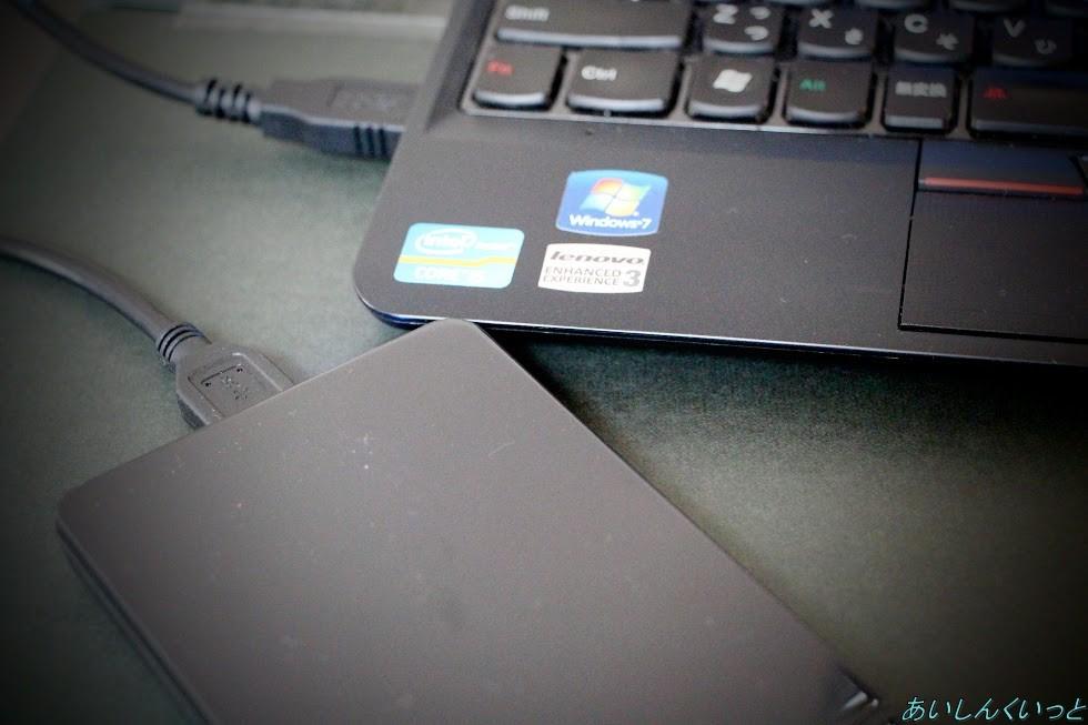 SSDを外付けSSDとして利用してみる。玄人志向GW2.5CR-U3を使って!
