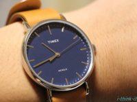 TIMEXの腕時計は値段も安くてコスパ抜群!シックなデザインでビジネス、カジュアルにも使えるよ!