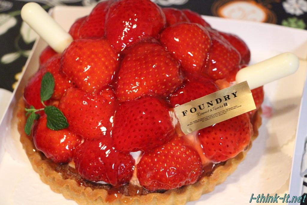 FOUNDRYってスイーツが美味しかったので紹介しておく。旬の果物が美味い!