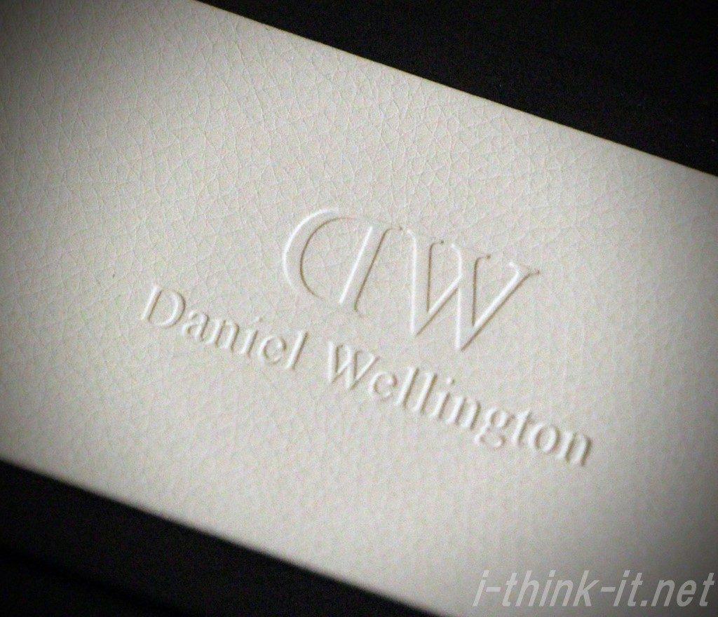 ダニエルウェリントンの箱