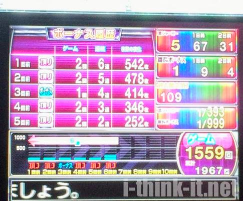 1,559回ハマりグラフ