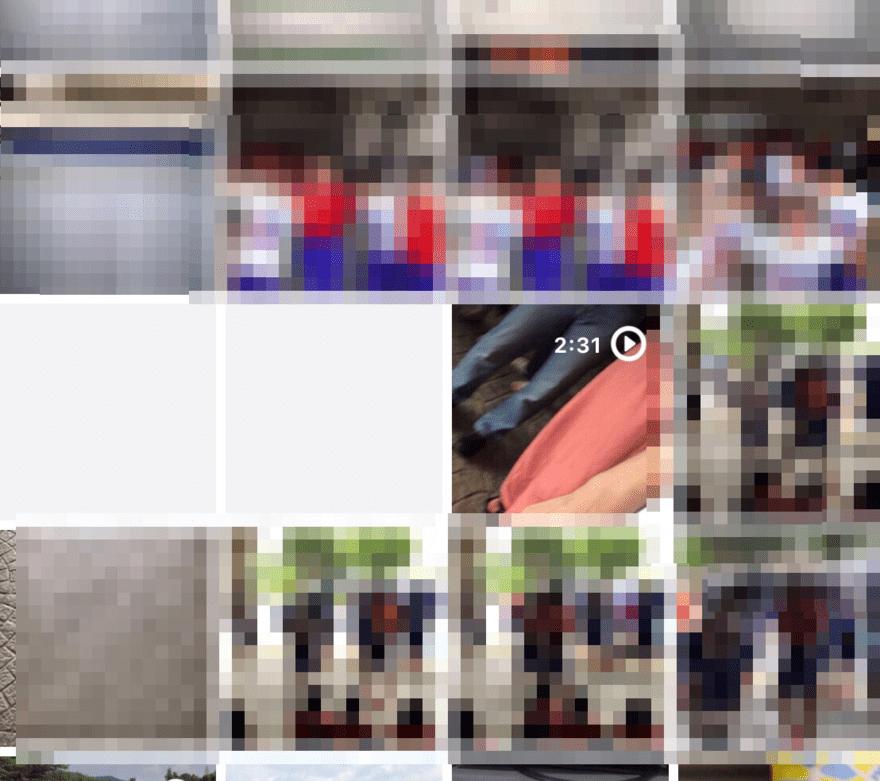 オフライン環境だと動画部分は空白表示