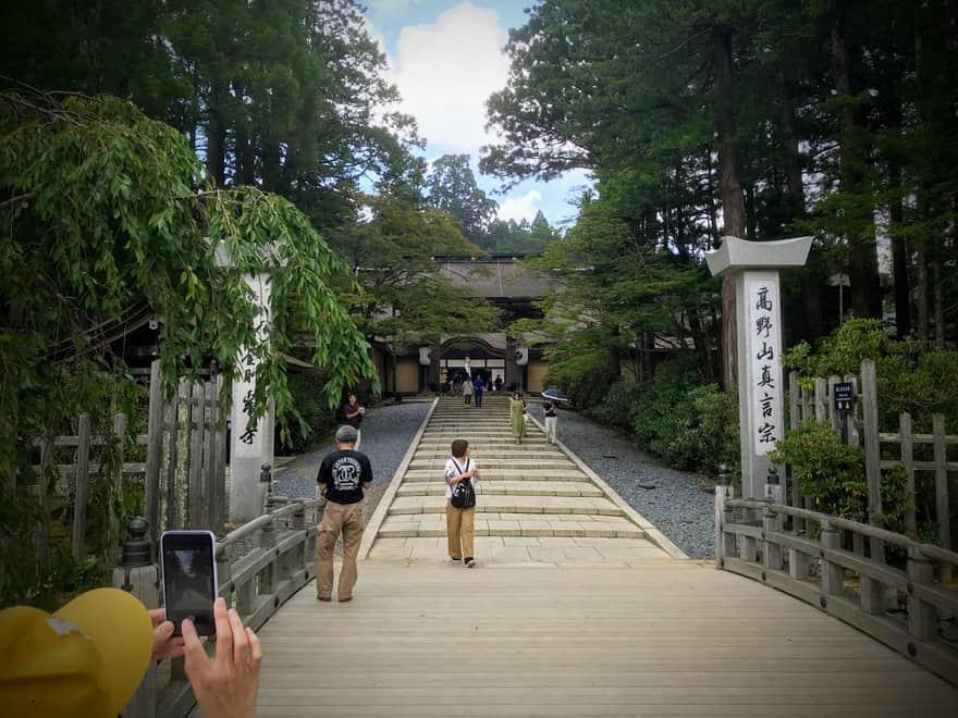 高野山 奥の院への道