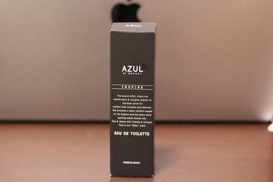 AZULの香水「INSPIRE」