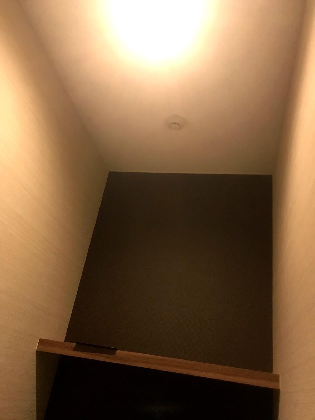 ネットルーム内天井の様子