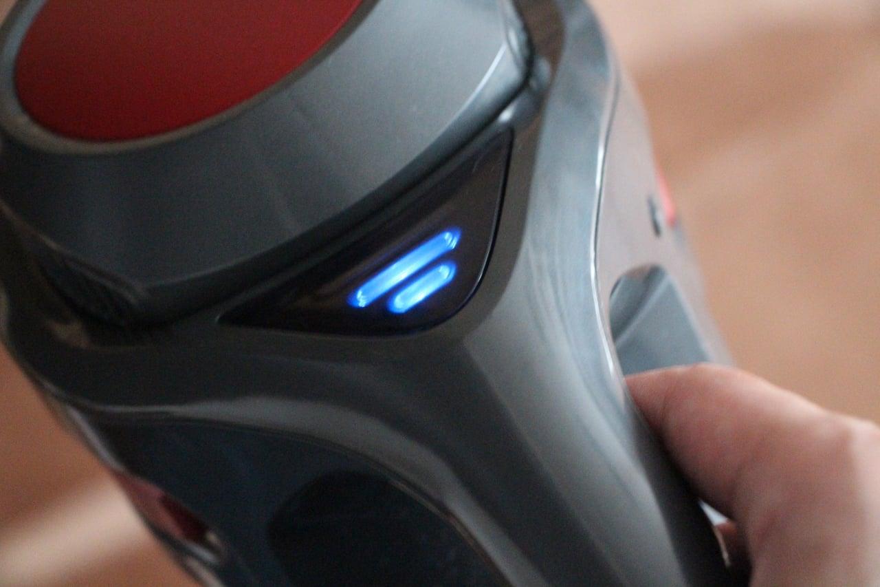 コードレス掃除機のバッテリーメーター
